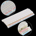 MB-102 Solderless Breadboard Protoboard 830 Tie Points 2 buses Test Circuit Mini Universal Test Protoboard Circuit Board