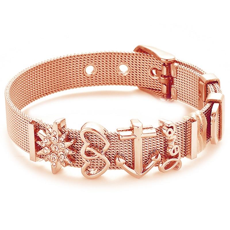 Fashion Stainless Steel Woman Men Bracelet 1