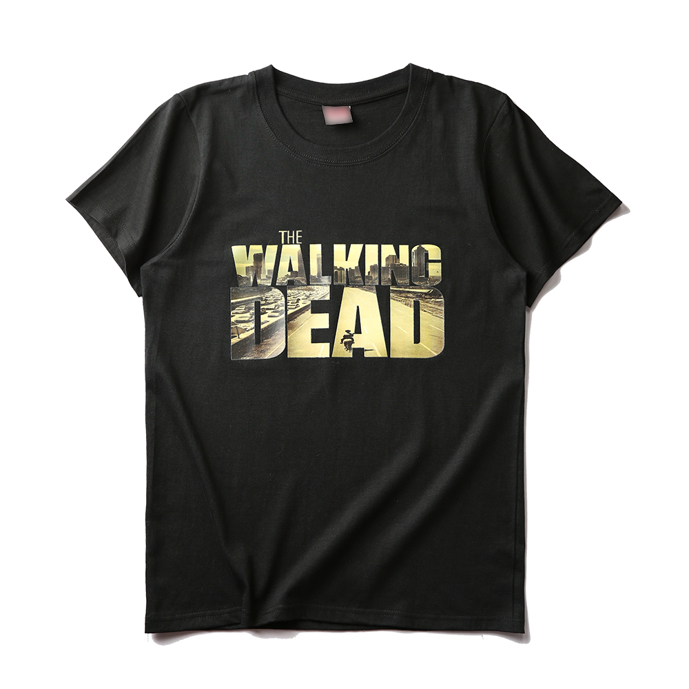 The Walking Dead Logo Printed T-Shirt  Bestseries Shop-7884