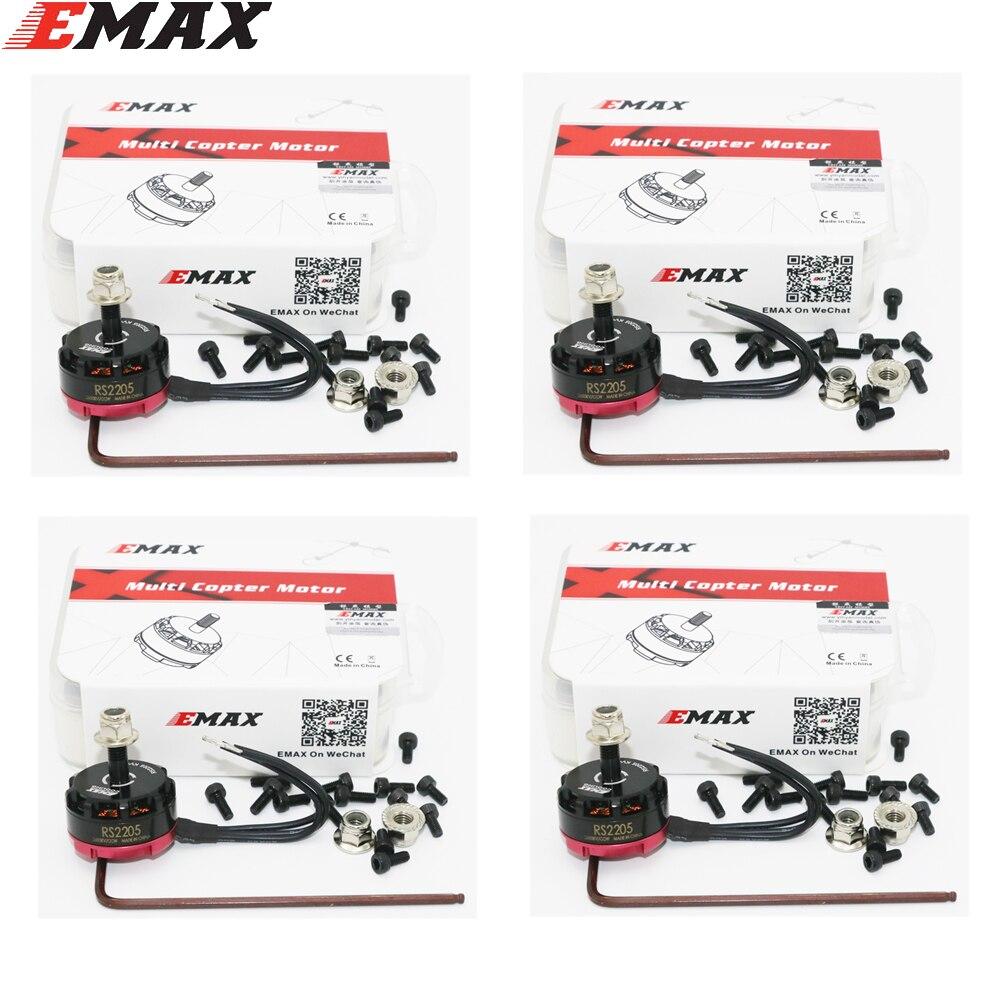 4set lot Original EMAX RS2205 2300 2600KV Dubai Grand Prix special motor 3 4S for DIY