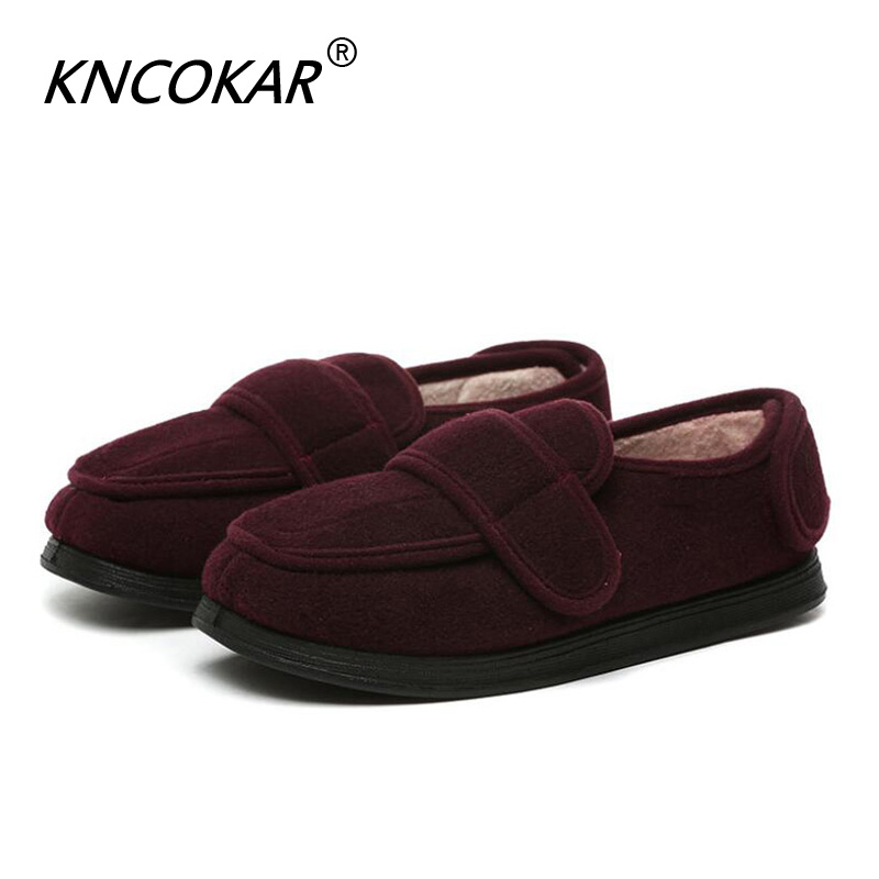 Heat Sales High Quality Old Age Can Be Adjusted With Wide Shoe Foot Swollen Toes Shape