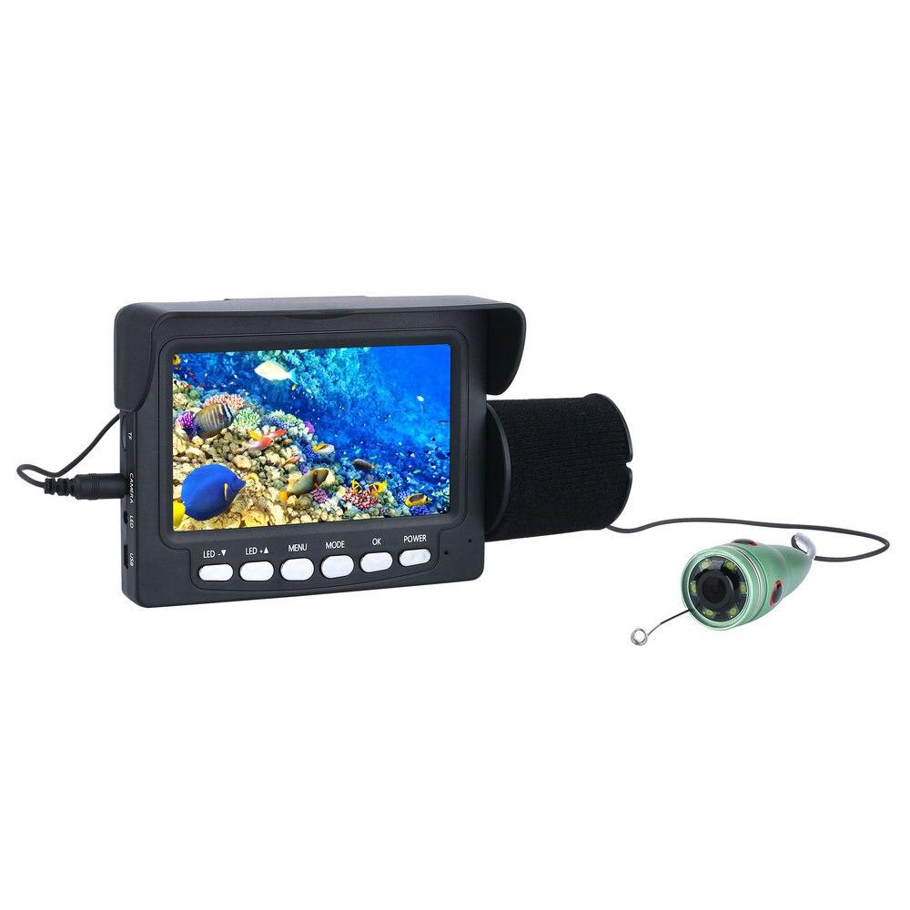 Mountainone Unterwasser Angeln Video Kamera Kit 6 PCS 1W IR Led-leuchten mit 4,3