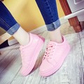 2016 spring and autumn shoes casual teenager student school white shoe women soft bottom thick bottom cute shoes zapatos