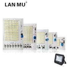 Светодиодный ламповый чип 220 В SMD лампочка 2835 Smart IC светодиодный светильник на входе 10 Вт 20 Вт 30 Вт 50 Вт 100 Вт для наружного прожектора светильник