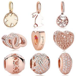 a449f3040 ELESHE Beads Fit Pandora Charms Bracelets Jewelry