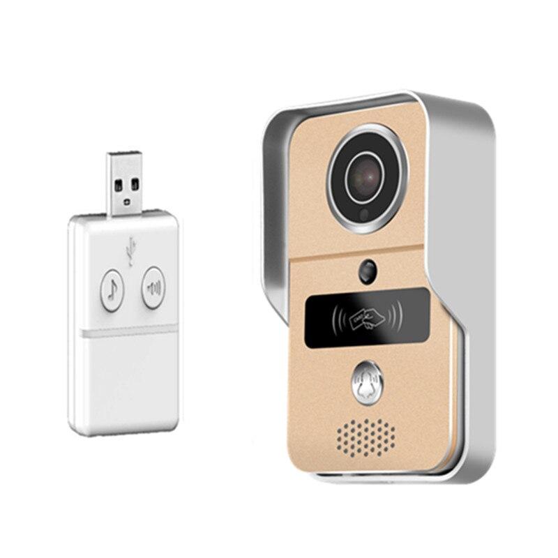 Yoosee APP Remote Control 1080P  WIFI Doorbell With Indoor Bell Video Door Phone