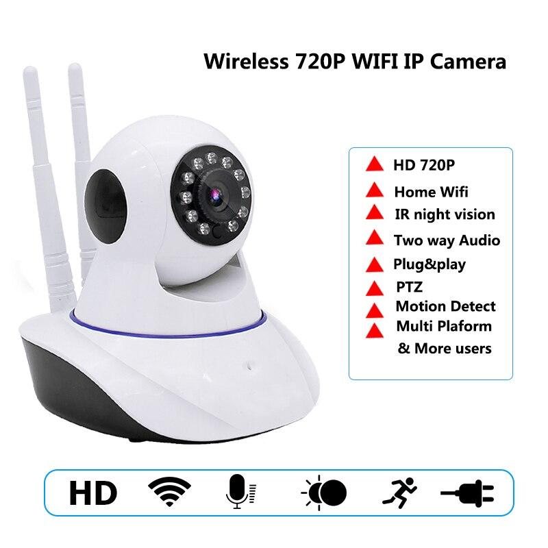 IP Camera Wifi HD 720P Wireless Baby Monitor P2P Support APP Remote Control Surveillance Security IP Camera CCTV