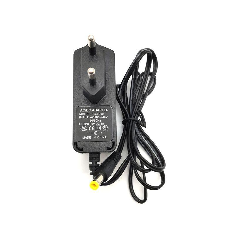 US Plug Input 100~240V Output DC 9V 1A Power Adapter for Arduino