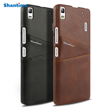 Luxury Pu Leather Wallet Case For Lenovo K3 Note A7000 Phone Bag S8 A7600 Business Card Slots