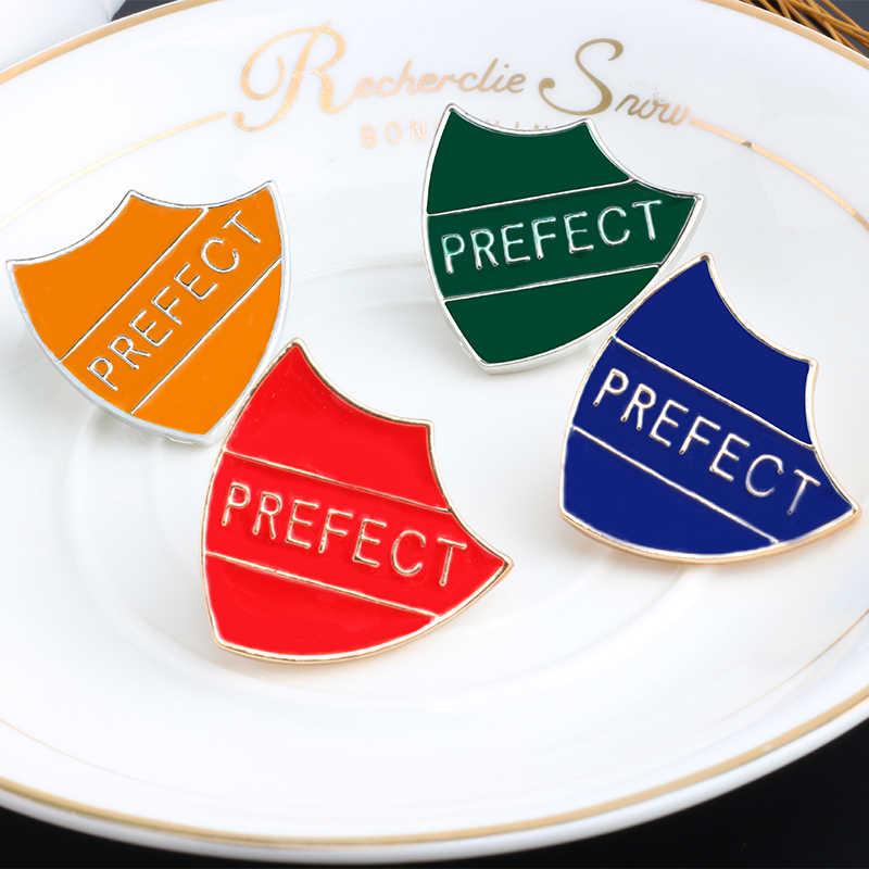 Klasik Enamel Pin Bros Prefek Lencana Logam Tombol Perisai Permainan Bros untuk Wanita Kemeja Jaket Syal Hat Perhiasan Aksesoris