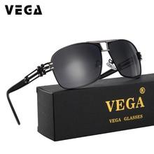 VEGA Polarized Super Cool Military Glasses For Police Driving Mens Square Anti Glare Sunglasses Brand Designer UV400 377
