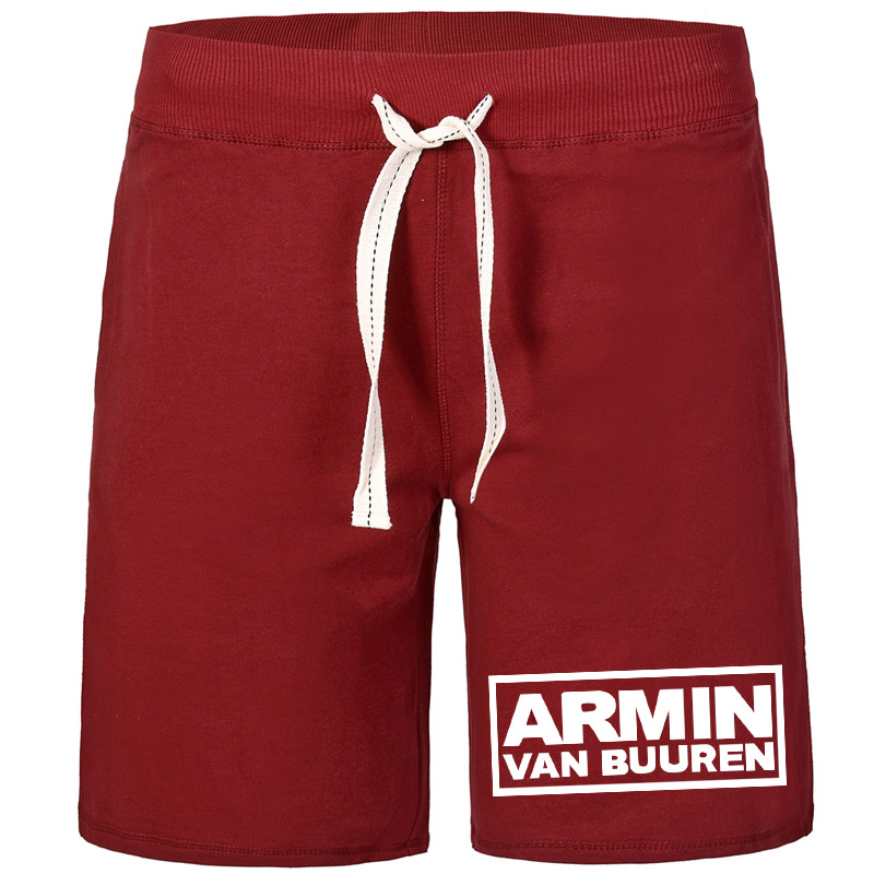 US Man Shorts AEMIN Van Buuren style classics breathable solid 100% Z Cotton with pockets Dropshipping(China)
