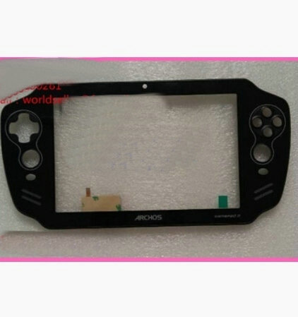 New For 7'' PSP Tablet New Archos GamePad 2 A70GP2 Playgame Touch Screen Panel Digitizer Replacement Frame Free Shipping new 7 tablet for archos 70 oxygen touch screen digitizer panel replacement glass sensor free shipping