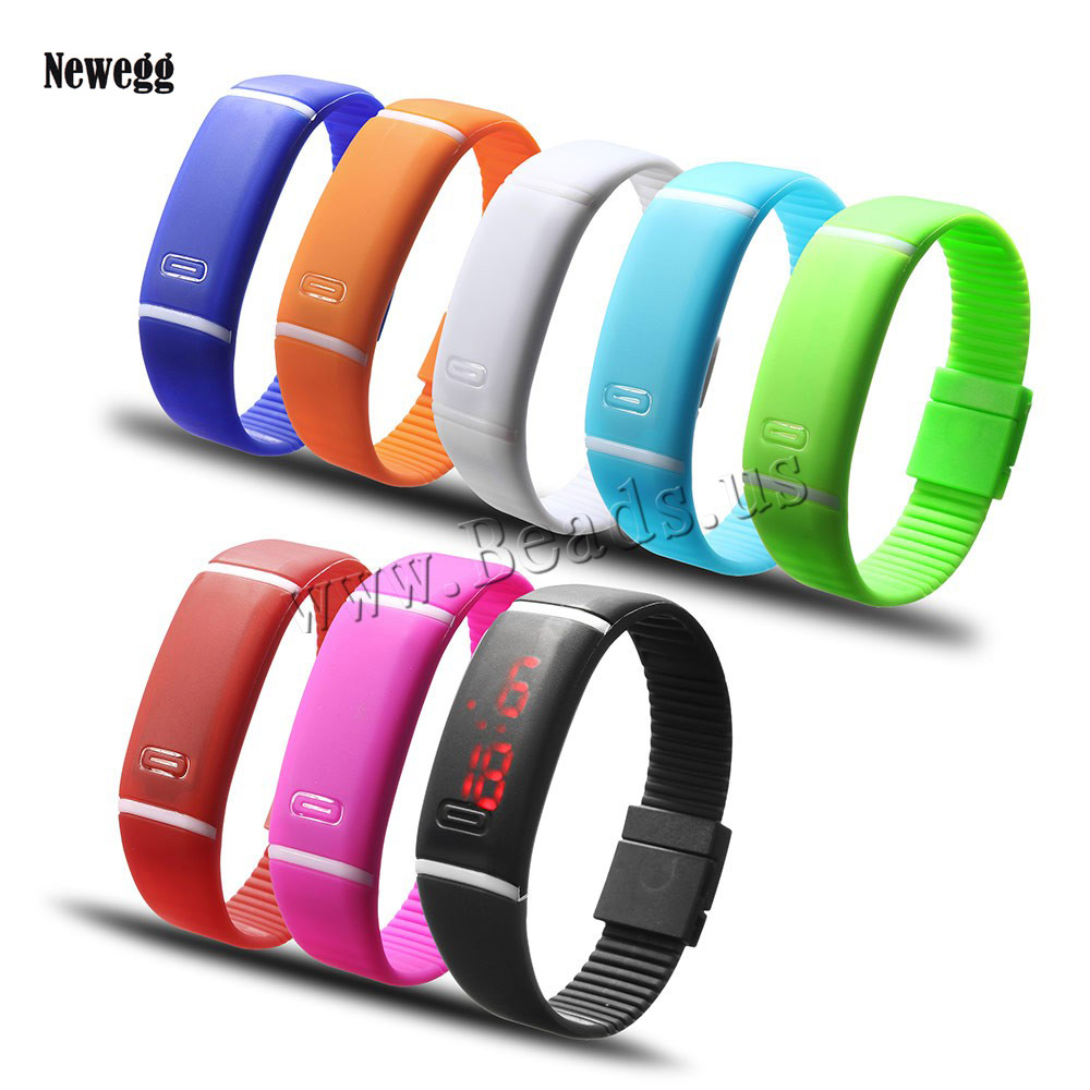 2017 Upgrade Section Waterproof LED Bracelet Children Women Watch Men Digital Wristwatch Sports Shock Fashion Clock монитор 27 asus vp278h tn led 1920x1080 1ms vga hdmi