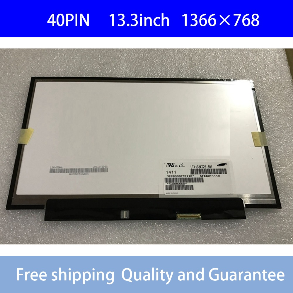 LTN133AT25 501 T01 601 LTN133AT25-601 LED  Display For Toshiba Z830 Z835 Z930 Z935 LCD Screen matrixLTN133AT25 501 T01 601 LTN133AT25-601 LED  Display For Toshiba Z830 Z835 Z930 Z935 LCD Screen matrix