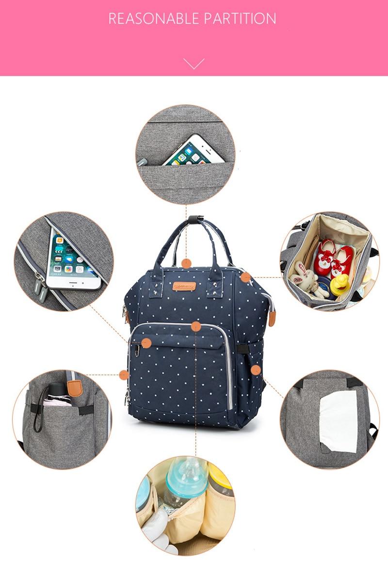HTB1NSbPgILJ8KJjy0Fnq6AFDpXa8 23 Colors Fashion Mummy Maternity Nappy Bag Large Capacity Baby Diaper Bag Travel Backpack Designer Nursing Bag for Baby Care