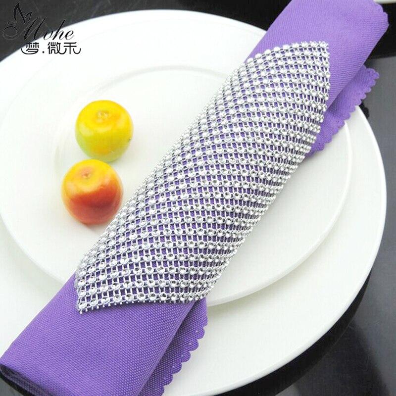 Сетчатая отделка Bling Diamond wrap торт рулон Тюль 10 шт./пакет DIY Кристалл ленты вечерние партия Свадебные украшения событие вечерние вечеринок