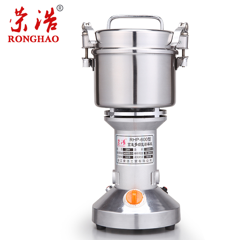 Stainless Steel  Large Powdering Machine Superfine Grinding Machine Traditional Chinese Medicine Electric Grinder vibration type pneumatic sanding machine rectangle grinding machine sand vibration machine polishing machine 70x100mm