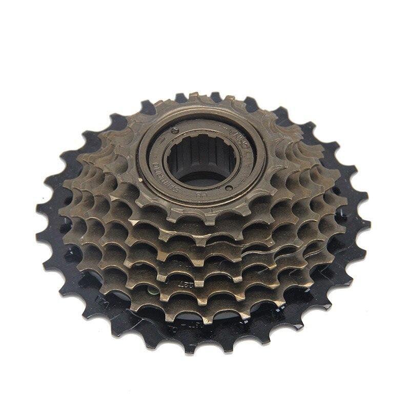 Цена за Горный Велосипед Выбеге 2015 Новый 14 28 Т 7 Скорость кассета дорожный велосипед Велосипеды Карты Кассета Маховик Частей MF TZ21