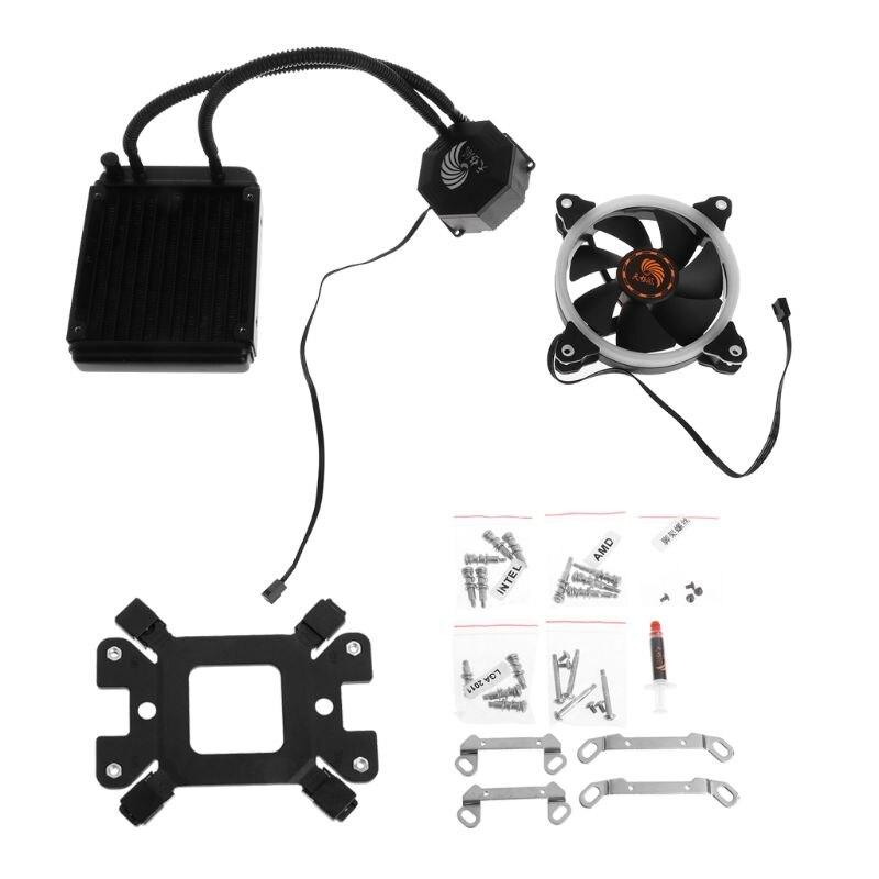 Tablette-liquide congélateur système de refroidissement ventilateur refroidisseur de processeur fluide roulement dynamique Kit de radiateur