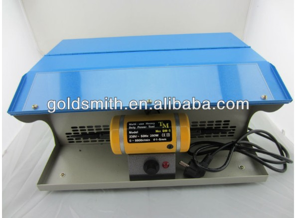 mini table polisher,Polishing motor with Dust Collector,mini jewelry lathe, buffing polishing machine