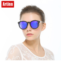 Artinn Luxury Sunglasses Fashion Personality Glasses Daily Comfortable Models Vintage Sunglasses 98664G