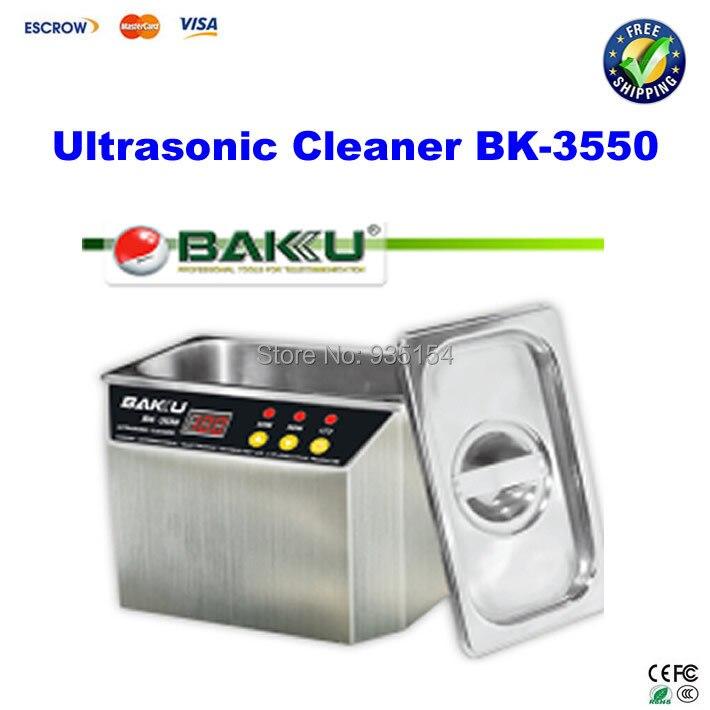 все цены на 110/220V BAKU 3550 BK-3550 Ultrasonic Cleaner Cleaning machine онлайн