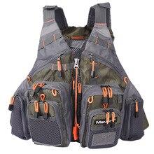High Quality New Adult Fishing Vest Multi Pocket Jacket Swimming Vest.