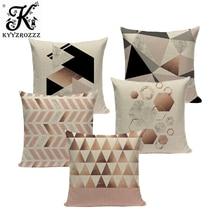 Case geometric pillow cushions for sofa decorative 45Cmx45Cm Square pillows cushion cover Custom throw