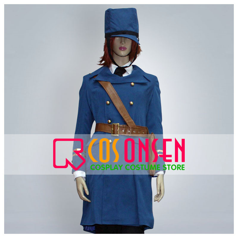 COSPLAYONSEN Axis Powers Hetalia Sweden Cosplay Costume All Size Full Set Custom Made