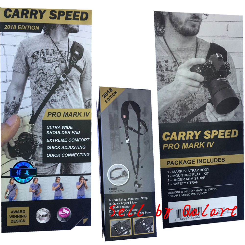 Genuine CarrySpeed Pro Mark IV FS PRO Professional Sling Camera Shoulder Strap Rapid Quick for 1DX