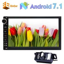 "7"" Android 7.1 Car Stereo Octa Core Car Radio GPS Navigation In Dash Bluetooth Multimedia Player Bluetooth/WiFi+Backup Camera"