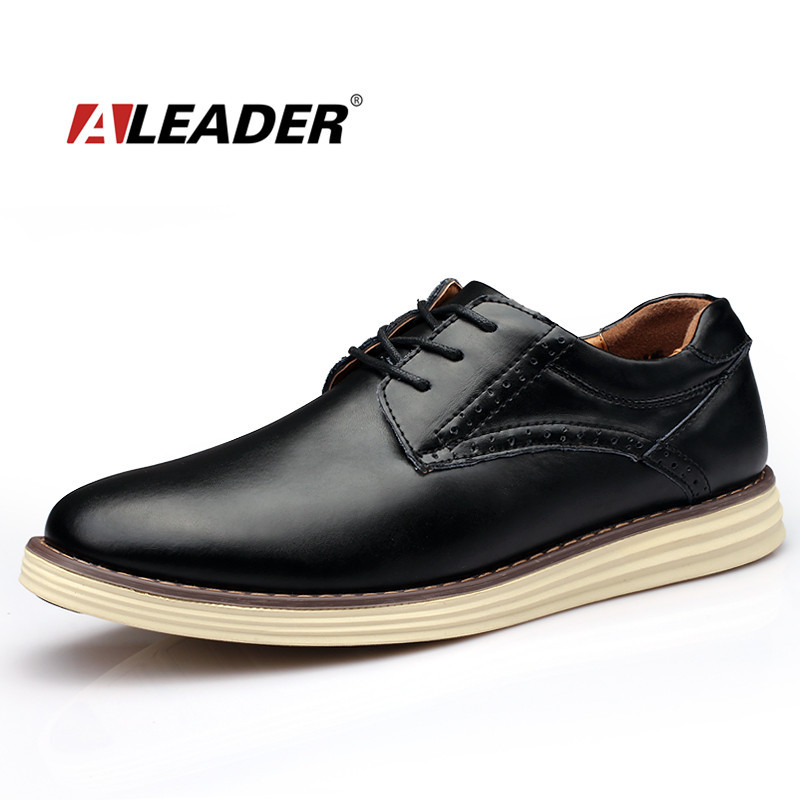 Leather Men Shoes Casual 2015 Autumn Fashion Lace Up Formal Shoes Men Designer Shoes for Man Oxfords Dress Shoes zapatos hombre