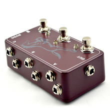 ФОТО looper-guitar loop pedal board-true bypass- guitare effects brown pedal switch  for electric guitar parts accessories