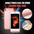 4.7/5.5 Inch Phone Battery Charger Cases 10000mAh Rechargeable External Extended Phone Bower Bank Stand for iPhone 6 6s 7 Plus