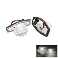 Фабрика питания 18smd светодиоды Номерные знаки для мотоциклов свет лампы для Honda Jazz легко Установка белый Водонепроницаемый задние фонари ис...