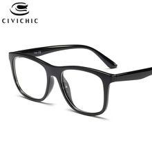 Chic TR90 Negócio Lazer Óculos Homens Retro Miopia Vidros Ópticos Enquadrar Simples HD Luneta De Vue Gafas de Marca Casuais COG72