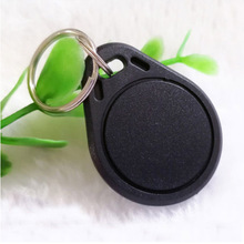 10pcs 125KHz TK4100 EM4100 RFID Tag Proximity Token Keyfobs RFID Card Key 10pcs set fashion the luggage tag key card color random plastic key chain bag tag key token card accessories