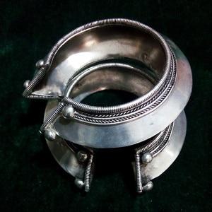 7 новейших стилей, серебряный браслет Miao ручной работы, широкий браслет с индивидуальным преувеличением, бесплатная доставка.