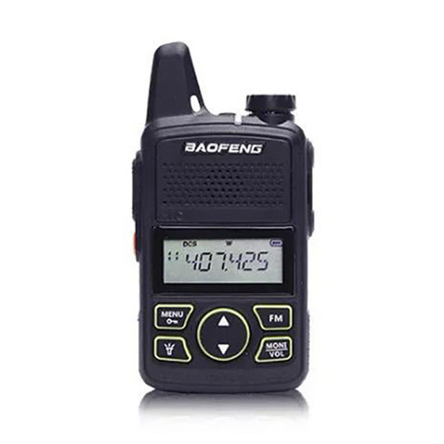BF 658 Baofeng Walkie   talkie USB ชาร์จระยะทางวิทยุแบบพกพาไร้สายโรงแรมความปลอดภัย Walkie Talkie