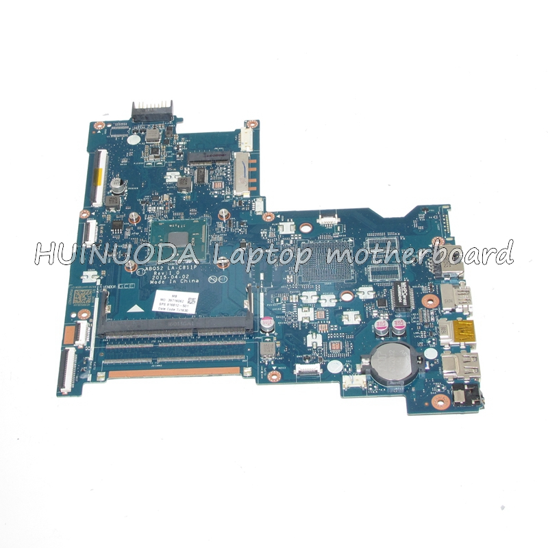 NOKOTION Original 816812-501 816812-001 ABQ52 Laptop Motherboard LA-C811P For HP 15-AC SR29E N3700 CPU Mainboard works 815248 501 main board for hp 15 ac 15 ac505tu sr29h laptop motherboard abq52 la c811p uma celeron n3050 cpu 1 6 ghz ddr3