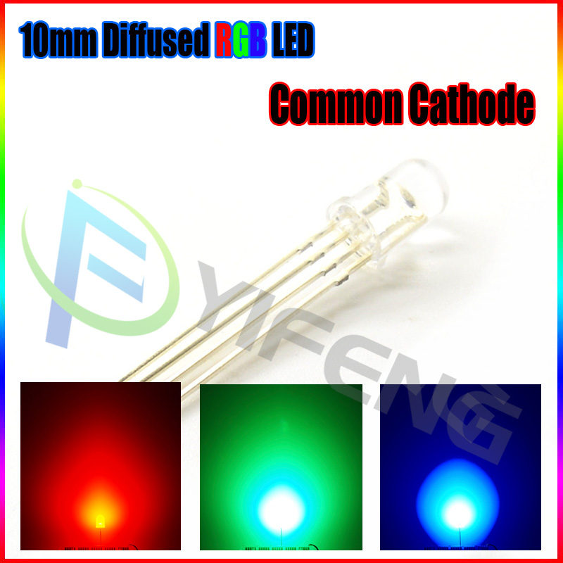 Active Components Diodes F5 5mm Warm White Red Green Blue Yellow Orange Pink Purple Rgb 24v Led Lamp Light With 20cm Wire For Toy Diy Plug X 100pcs