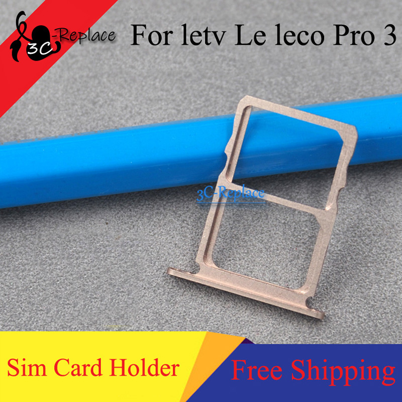Card-Holder Slot-Parts Micro-Sd Gold/rose-Gold for Letv Leeco/Le/Pro3/.. Original