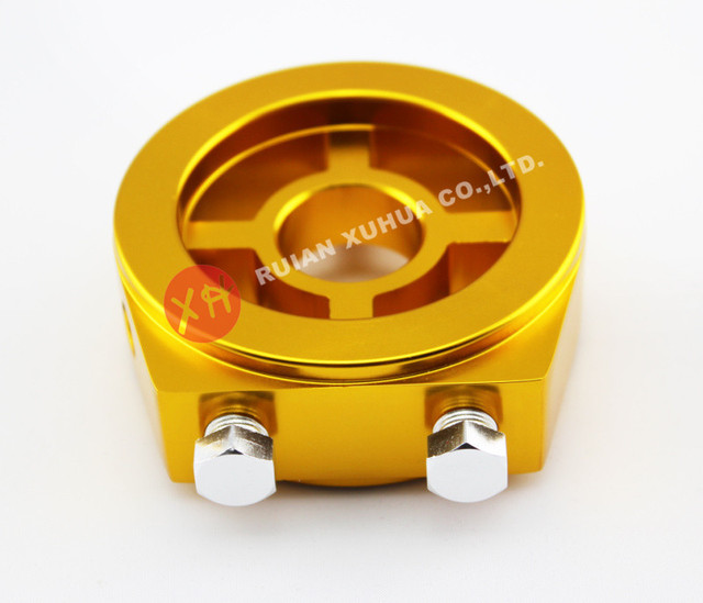 oil filter plate adapter