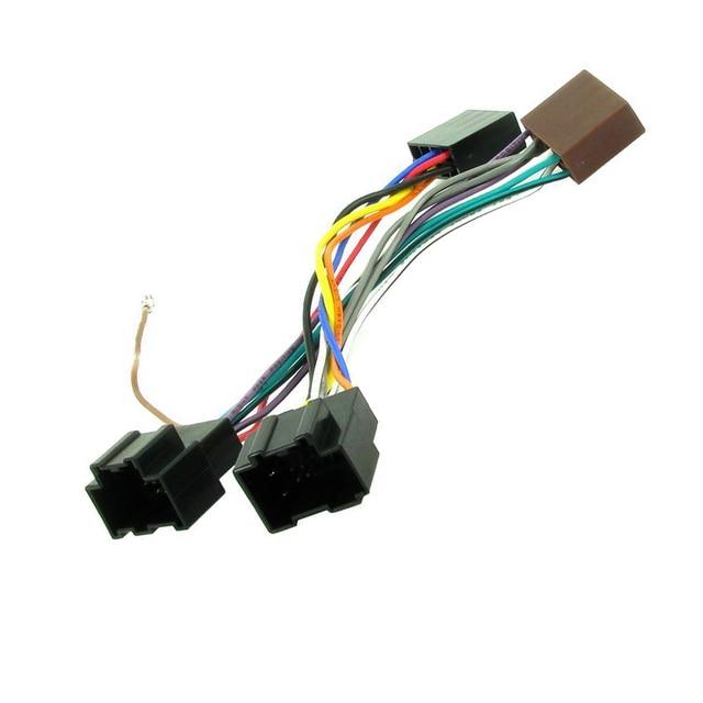 Nuevo conector adaptador de Radio ISO para coche 2018 para Chevrolet Aveo Kales Captiva Epica Spark