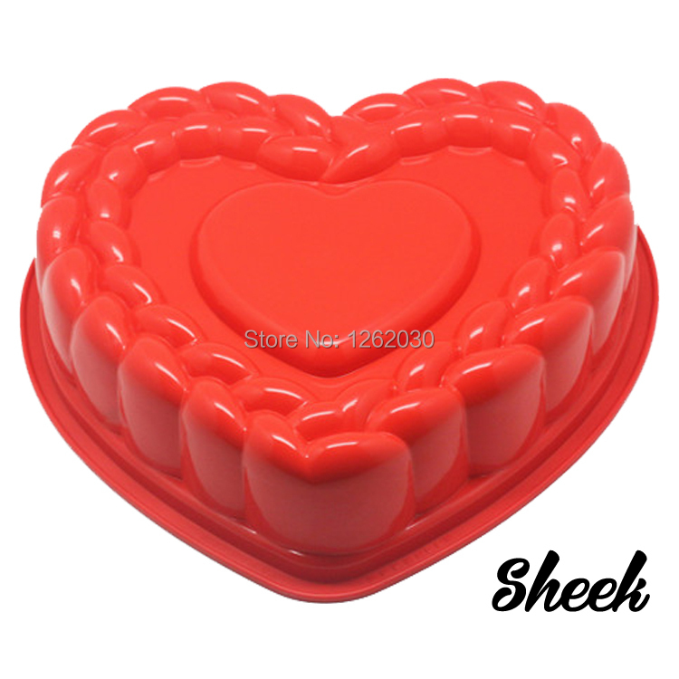 Cool 11 High Quality Silicone Birthday Cake Mould Large Heart Cake Personalised Birthday Cards Veneteletsinfo