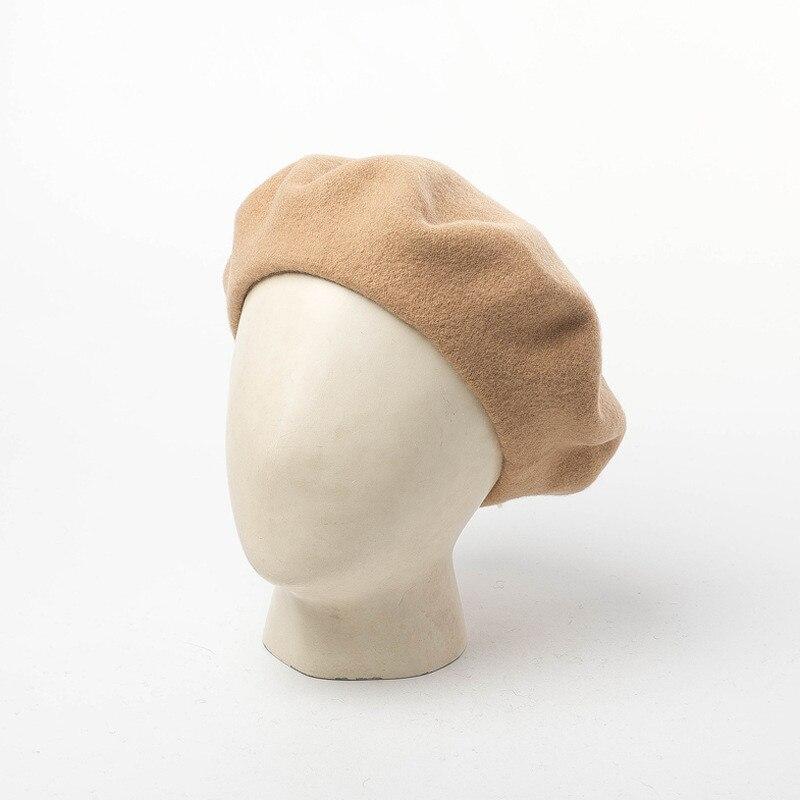 Новинка 2018 года в европейском и американском стиле шерстяной берет зима для мужчин праздничная одежда professional повседневное dualuse кепки высокое