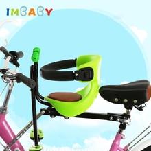 IMBABY Велосипедное детское седло, велосипедное детское сиденье для электромобиля/горного велосипеда, детские велосипедные стулья, велосипедное детское переднее сиденье