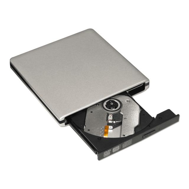 Universal Exterior Liga 12.7 USB3.0 DVD-RW + R Velocidade de Gravação 8X Queimador de CD-ROM Para Windows PC Notebook Máquina Integrada
