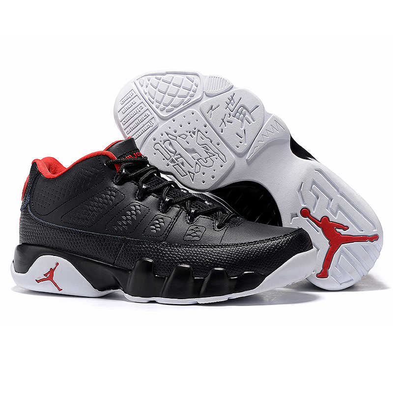 release date: 89feb ccc4f ... Nike Air Jordan 9 Low Bred AJ Women s Sports Basketball Shoes, Non-slip  Wear